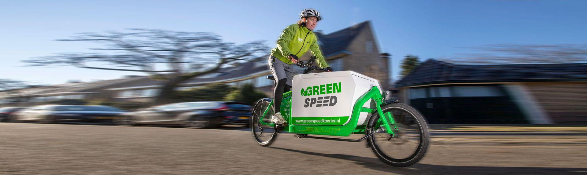 Greenspeed Fietskoerier Hilversum